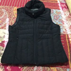 Kenneth Cole Down Zippered Black Vest